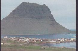 Iceland PPC Grundarfjördur West Iceland 16/524 Photo Ólafur Sigúrdsson (2 Scans) - Iceland