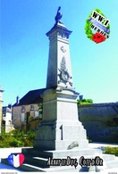 Carte Postale, Militaria, Monuments, World War I Monuments, France (Côte-d'Or), Arnay-le-Duc 1 - War Memorials