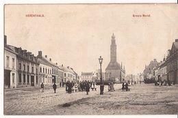 HERENTALS  GROOTE MARKT  FELDPOST 5.10.1914 Staat Re520 /d6 - Herentals