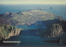 Iceland PPC Vestmannayjar Heimaey EDDA Foto (281) (2 Scans) - Iceland
