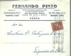 LETTER 1962 PORTO - 1910-... República
