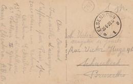 Elsenborn Pour Schaerbeek - CP Vue Générale Du Camp - Army: Belgium