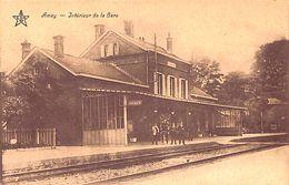 Amay - Intérieur De La Gare (animée, Edit. Charlier Os. 1928) - Amay