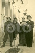 1948 REAL PHOTO FOTO POSTCARD WOMEN TRAVESTI LGBT CARNAVAL PORTUGAL CARTE POSTALE - Fumetti
