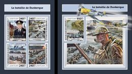 Djibouti 2017, WW2, Battle Of Dunkirk, 4val In BF +BF - 2. Weltkrieg