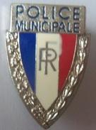 INSIGNE CASQUETTE POLICE MUNI - Police