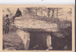 CPSM LIMOGNE 46 LE DOLMEN - France