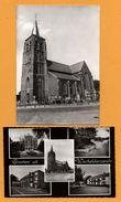 2 Cp - Wechelderzande - Kerk - Groeten Uit Wechelderzande - E.V.E.A. - Multivues - Vieille Voiture - HUIS MECHIELSEN - Lille