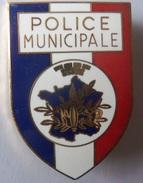 INSIGNE  POLICE MUNICIPALE - Police