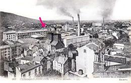 Manufacture De Caoutchouc MICHELIN à Clermont-Ferrand Et Château De Bien-Assis - Très Beau Plan - Clermont Ferrand