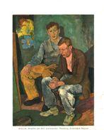 Gespräch (nach Einem Gemälde Von Karl Schlageter) /  Druck, Entnommen Aus Zeitschrift /1936 - Books, Magazines, Comics