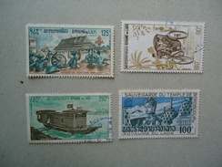 LAOS MINT- USED   LOT  STAMPS PAINTING - Laos