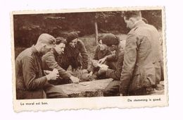 L'Armée Belge En Campagne..Le Moral Est Bon.Expédié En Franchise Militaire à Tienen - Guerre 1939-45