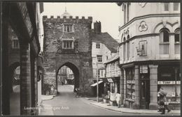 Southgate Arch, Launceston, Cornwall, 1968 - Overland Views RP Postcard - England