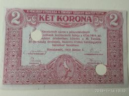 2 Korona 1919 - Ungarn