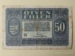 50 Filler 1920 - Ungheria