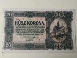 20 Korona  1920 - Ungheria