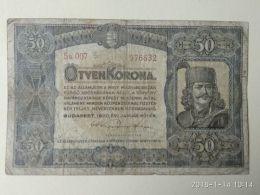 50 Korona  1920 - Ungheria