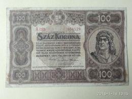 100 Korona  1920 - Ungheria