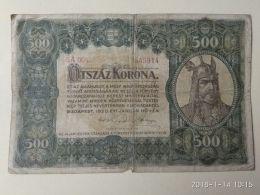 500 Korona  1920 - Ungheria