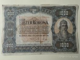 1000 Korona  1920 - Ungheria