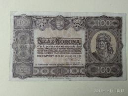 100 Korona  1923 - Ungheria
