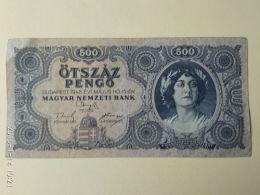 500 Pengo 1945 - Ungheria