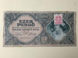1000 Pengo 1945 - Ungheria