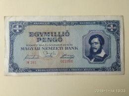 1.000.000 Pengo 1945 - Ungheria