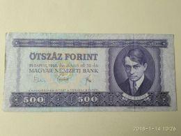 500 Fiorint 1969 - Ungheria