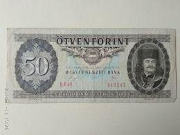 50 Fiorint 1989 - Ungheria