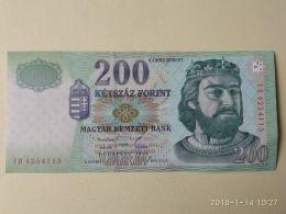 200  Fiorint 1998 - Ungheria