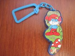 Kinder Joy Russia 2011 Schlumpfe Spielzeug Anhanger Key Ring Shlumpfe - Kinder & Diddl