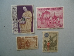 LAOS  MINT -USED  LOTS  STAMPS - Laos