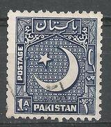 Pakistan 1950. Scott #47 (U) Star And Crescent - Pakistan