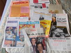 COPIE Lot De Documents En Rapport Avec Le Cirque Pinder Comporte Des Copies - Vecchi Documenti