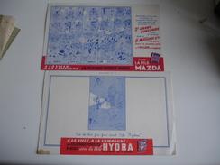 Illustrateur Dubout Pile Hydra  Buvard - Accumulators