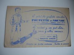 Poupette Et Youyou Paris 18 Le Plat Lo Jouhets Son Chai  Buvard - Coffee & Tea