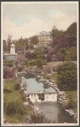 Upper Gardens, Bournemouth, Hampshire, 1929 - Postcard - Bournemouth (until 1972)