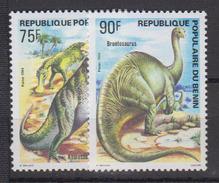 BENIN       1984                .     606 / 607            COTE   5 , 05    EUROS         ( S 418 ) - Bénin – Dahomey (1960-...)