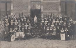 Handzame  Kortemark  FOTOKAART  Dankbare Hulde Aan Verenigde Staten 1914-15-16 Meisjesschool    EERSTE WERELDOORLOG - Kortemark