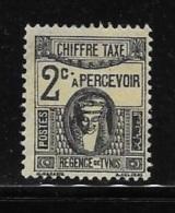 Tunisia 1922-49 Postage Due Stamp 2c Used - Tunisia