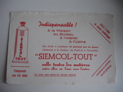 Siemcol Tout Colle  Buvard - Blotters