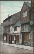 Old Snig Hill, Sheffield, Yorkshire, C.1905-10 - JWM & RPS Postcard - Sheffield