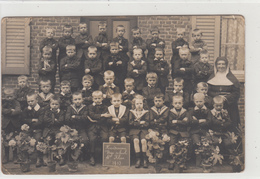 Handzame  Kortemark  FOTOKAART  1913 Vrije School 4° Klas - Kortemark