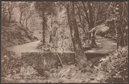 Hobby Drive, Clovelly, Devon, 1927 - Howard Postcard - Clovelly