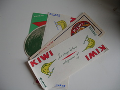 Lot 5  Cirage Kiwi Buvard - K