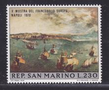 "SAINT-MARIN N°  761 ** MNH Neuf Sans Charnière, TB (D4404) Tableau Breughel, Exposition Timbre ""Europa"" - Saint-Marin"