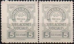 Bolivia 1955? ** PAR TIPO H&A ED6. Variedad: Perforado No Catalogado. See Desc. - Bolivia