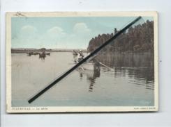 CPA - Fleurville - La Pêche - (pêcheurs ) - Autres Communes